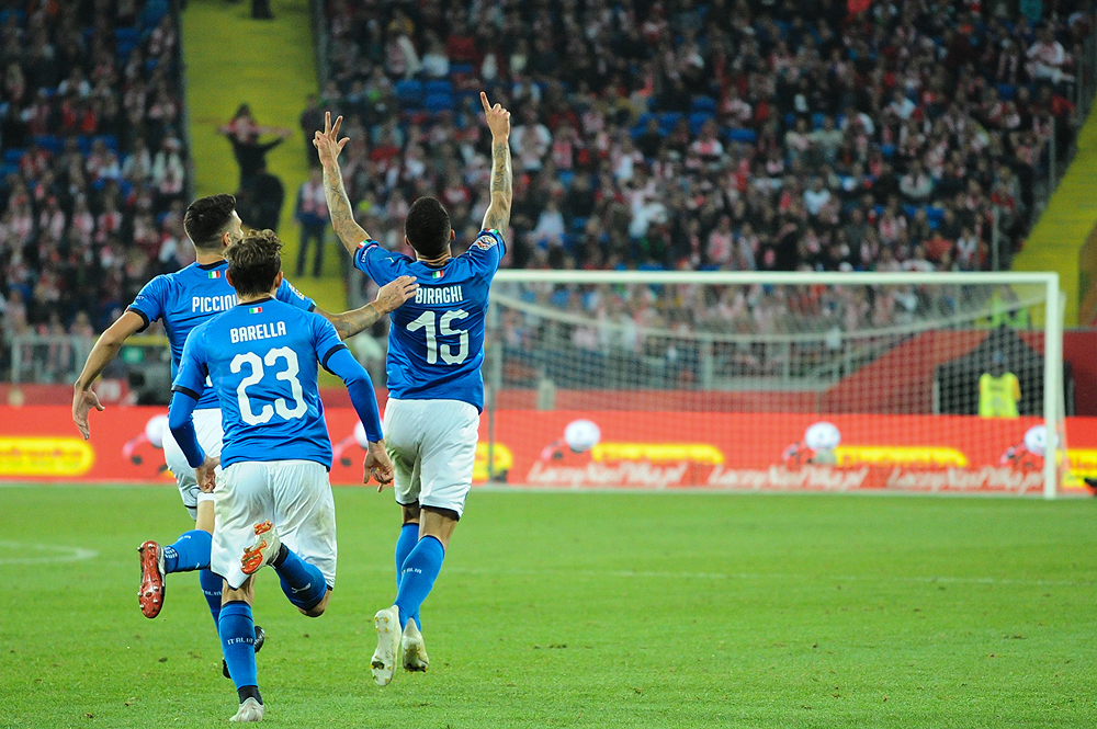 Liga Narodów: Polska – Włochy 0:1