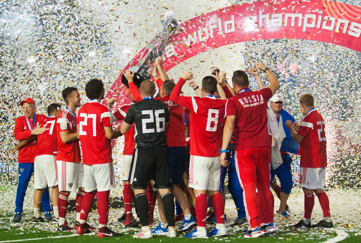 SOCCA WORLD CUP 2019 FINAŁ: POLSKA - ROSJA 2:3